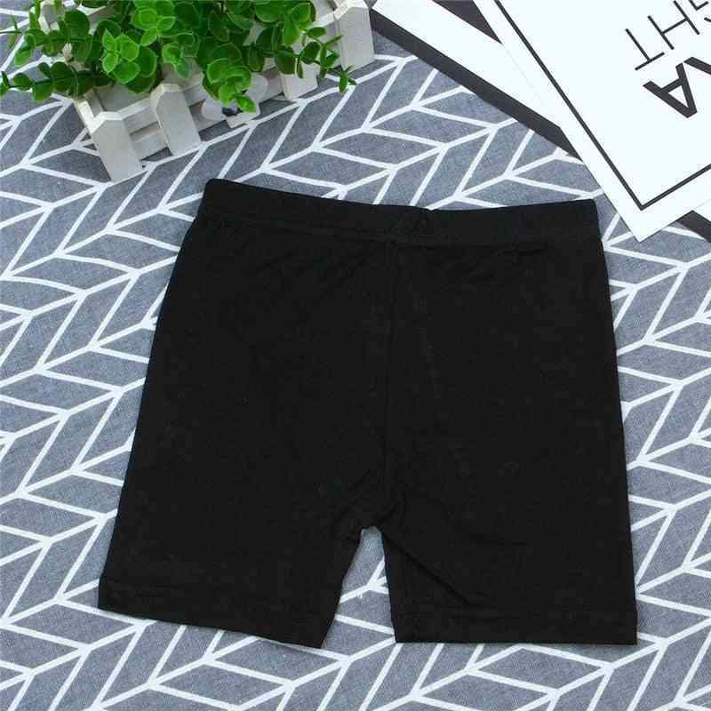 Solid Safety Short Pant