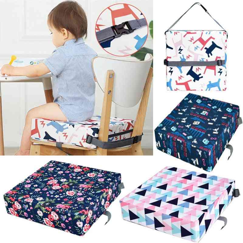 Baby High Chair Booster Pad, Portable Thicken Sponge Seat Cushion