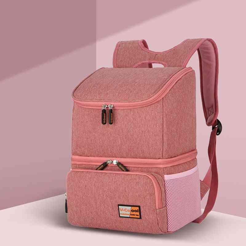 Baby Insulated Bag Backpack Breast Milk Cooler Bag