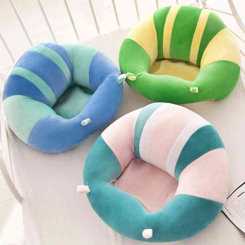 Baby Support Seat Sit Up Soft Chair Cushion Sofa Plush Pillow Toy For Baby Rocking