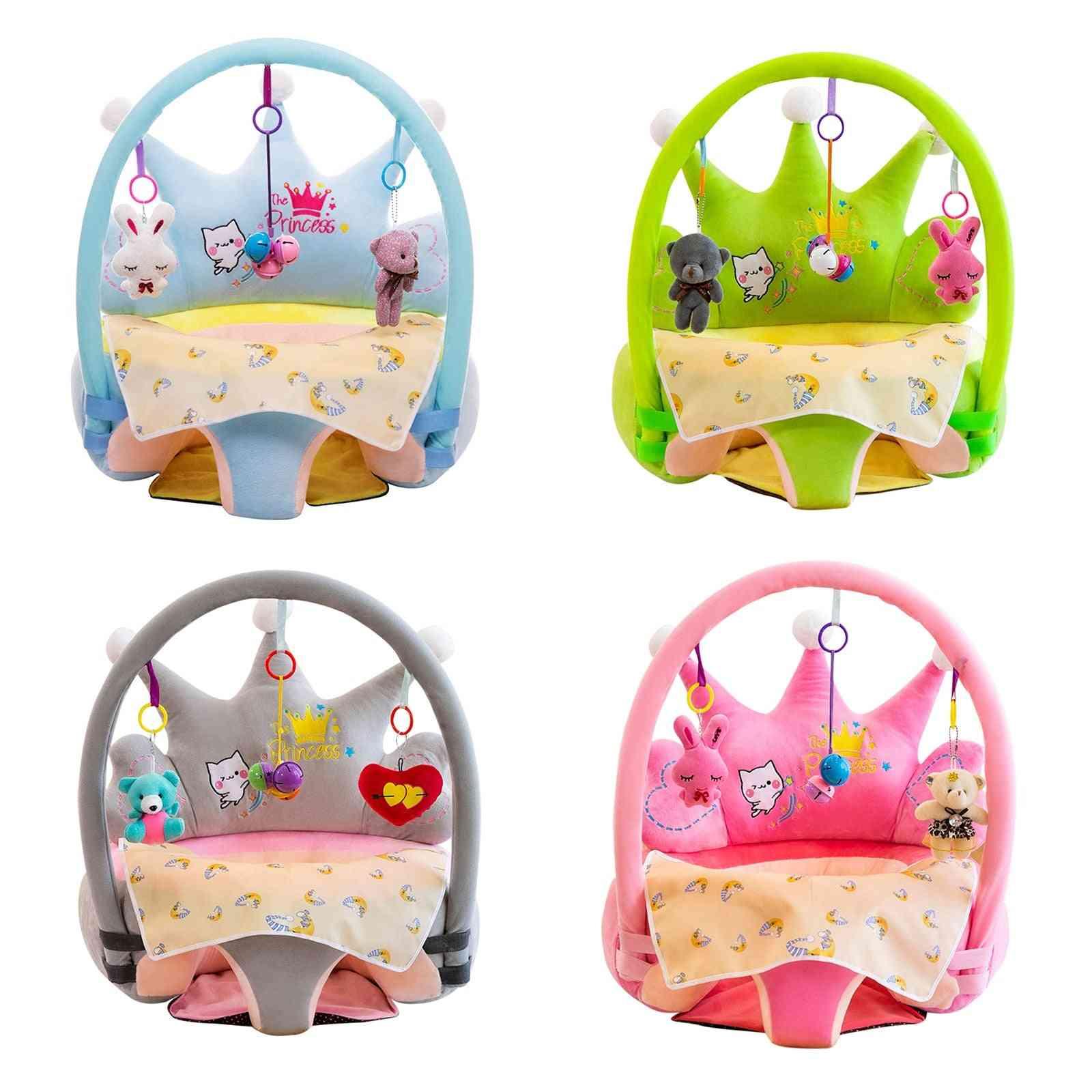 Baby Sofa Cover Crown Cartoon Comfort School Seat Cover