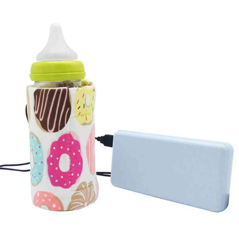 Outdoor Cup Warmer Heater, Infant Feeding Portable Usb Baby Bottle  Insulation Bag