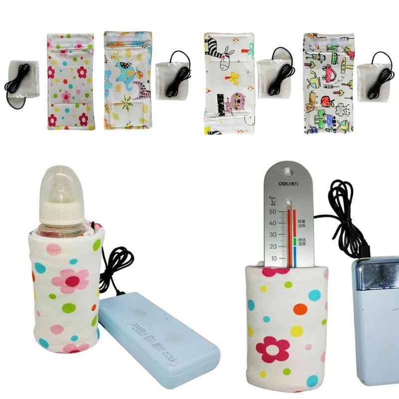 Usb Charging Baby Portable Outdoor Infant Milk Feeding Bottle