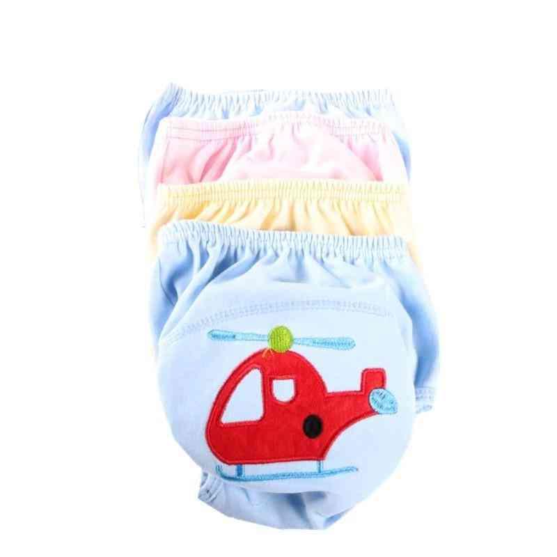 10pcs Baby Training Cloth Study Pants Reusable Diapers