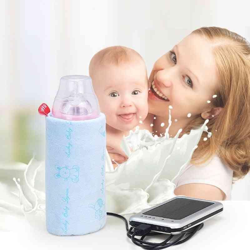 Travel Stroller Usb Milk Water Warmer Insulated Bag