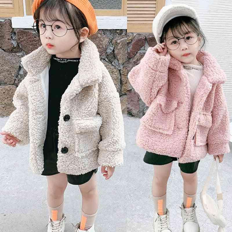 Baby Winter Jackets, Lambs Wool Coats Kids