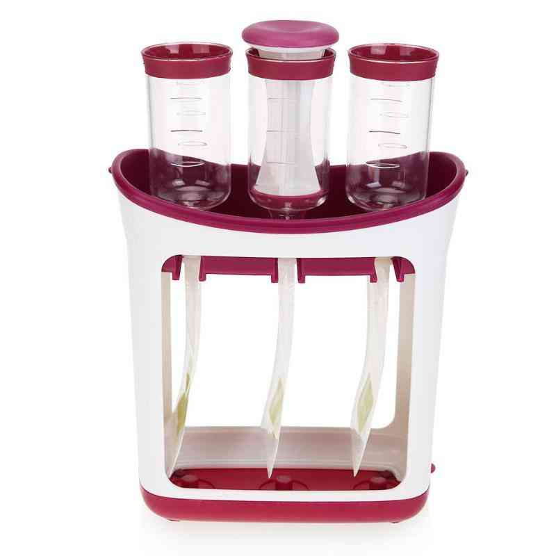 Baby Food Maker Squeeze Food Station Organic Food For Newborn Feeding Maker