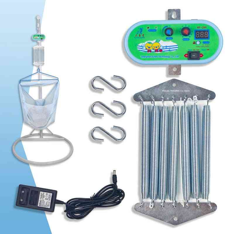 Eu Plug, Electric Cradle Controller, Infant External Power Swing Driver With 7 Springs