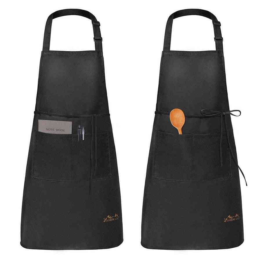 Kitchen Feed Cooking Waterproof Nail Salon Chef Uniforms Cafe And Aprons
