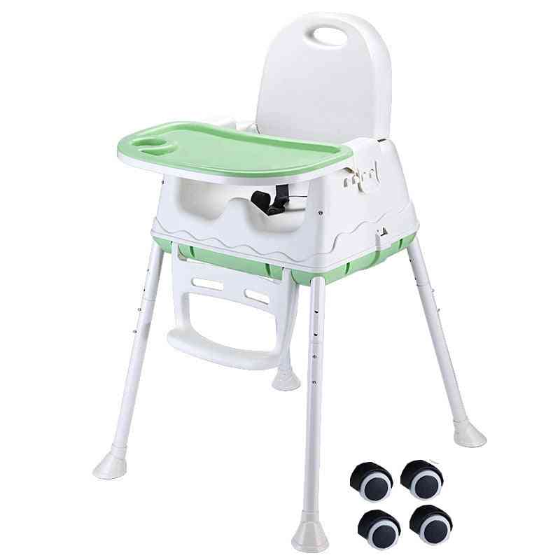 Baby Dining Chair, Portable, Eating Safe High Home Suitable For Child Seat, Foldable, Safety Kid Stool