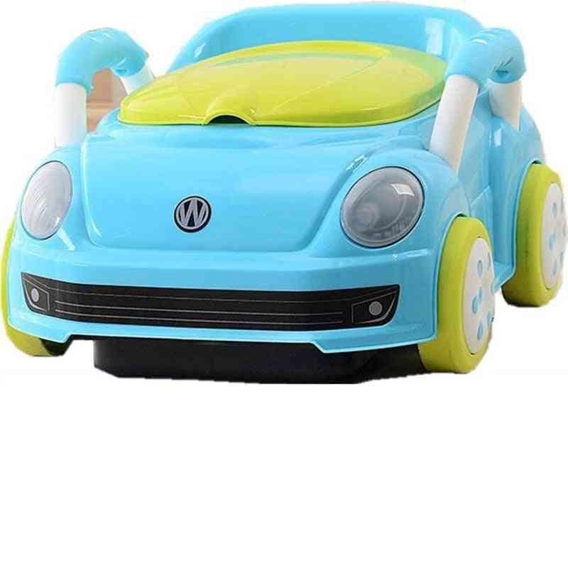 Candy Color Car Style Baby Potty Trainer