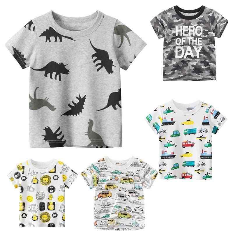 Animal Print Dinosaur T Shirt