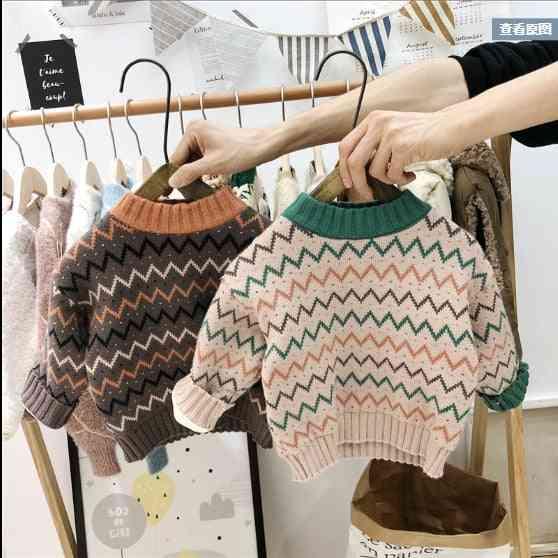 Autumn Winter Boy Girl Pullover Sweater