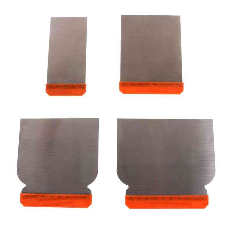 Carbon Steel Putty Knives Kit Durable Scraper Putty Cleaning Filling Tools