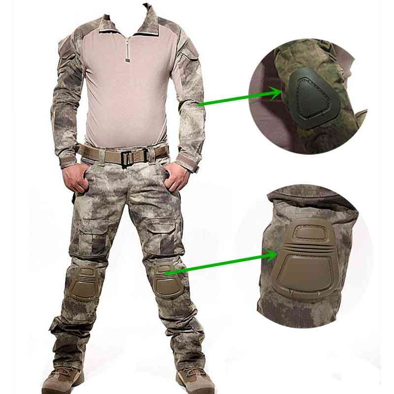 Tactical Camouflage Military Uniform