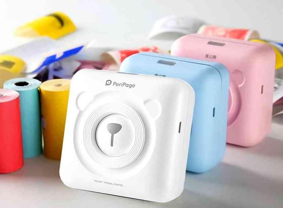 Portable Thermal Bluetooth Printer
