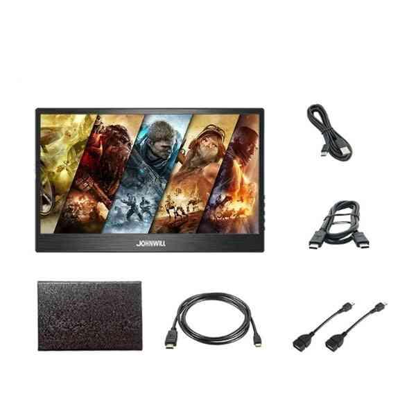 Monitor 15.6 Inch 3840x2160 Ips Lcd Display Hdmi Dp Type-c Gaming Monitor