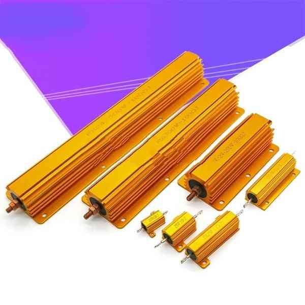 50w 100w Aluminum Power Metal Shell Case Resistor