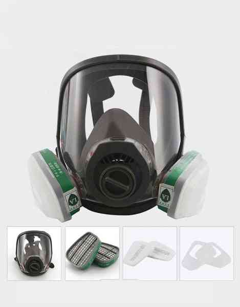 3 Interface Mask Combination 6001/sjl With  5n11 Filter Cotton /  Box Respirator Gas Mask