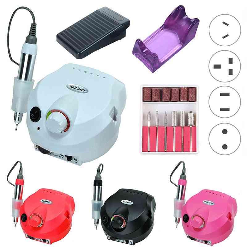 Electric Nail Drill Machine, Manicure, Pedicure