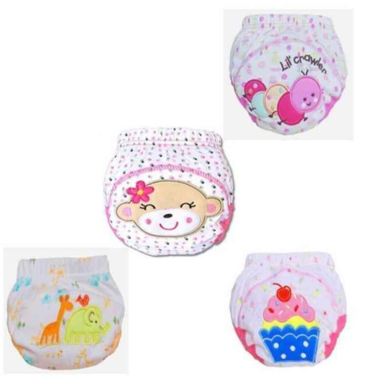 30pc/lot Baby Learning Pants Waterproof Training Cotton Underwear