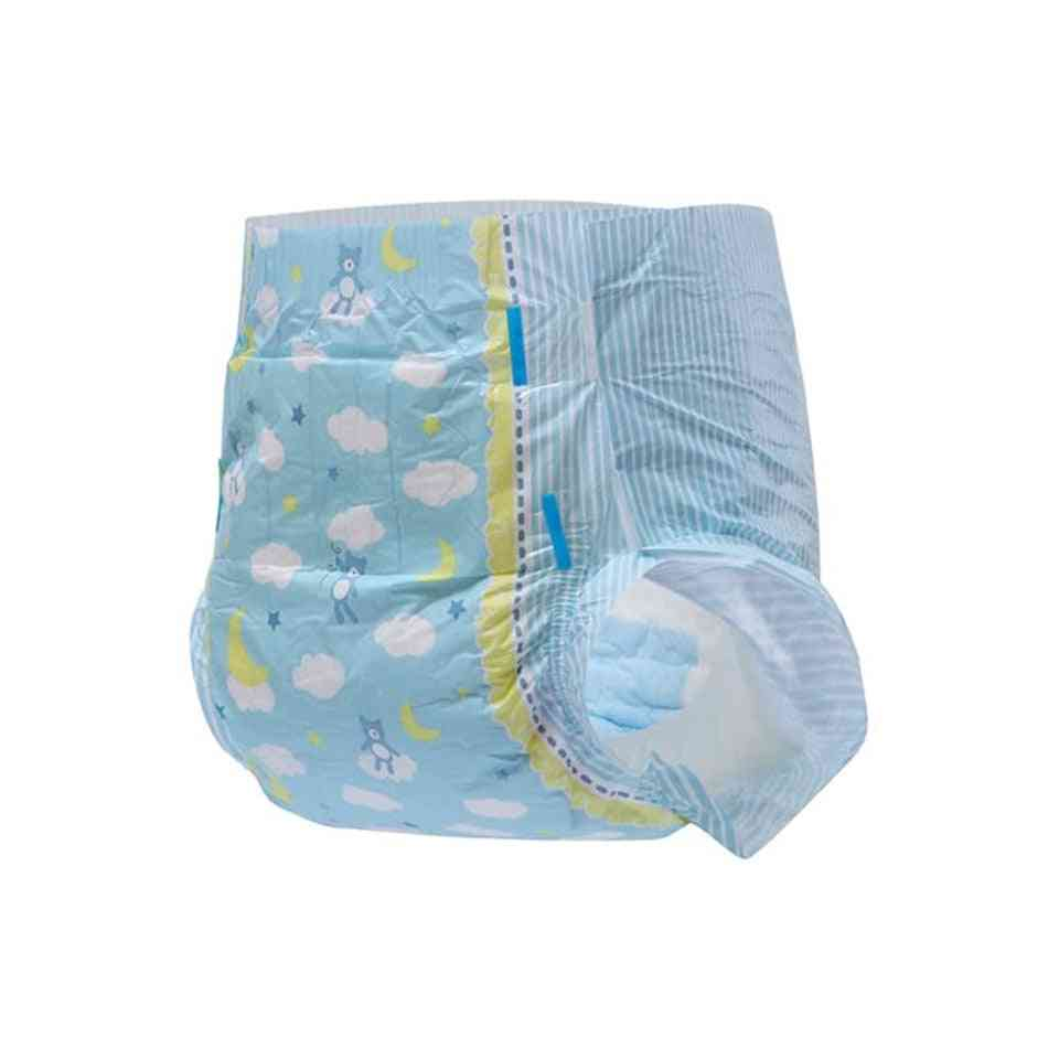 10 Pcs Adult 5000ml Niappe Little Dreamer Printed Diaper For Girl/boy