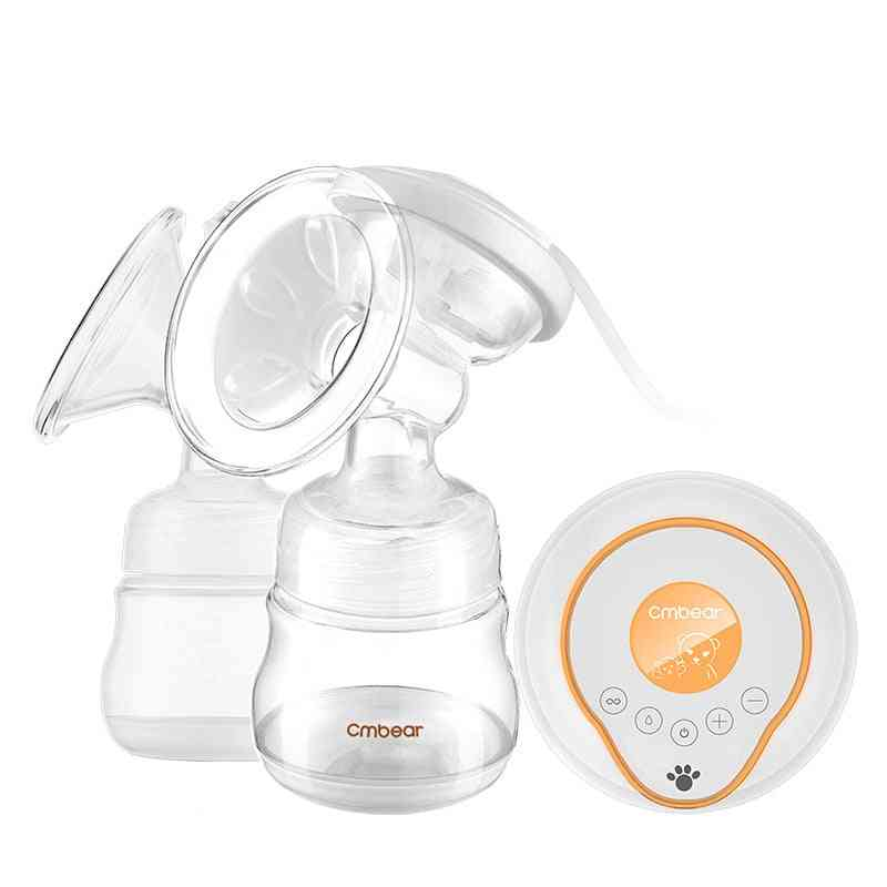 Cambiar Double Electric Breast Milk Pump With Bottle Baby Milk Extractor