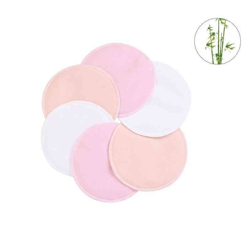 Baby 3 Layers Reusable Breast Pads, Breastfeeding For Nursing Mother