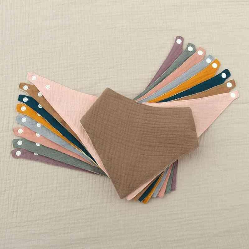 Baby Bibs Cotton Accessories Towel Feeding Drool Bibs