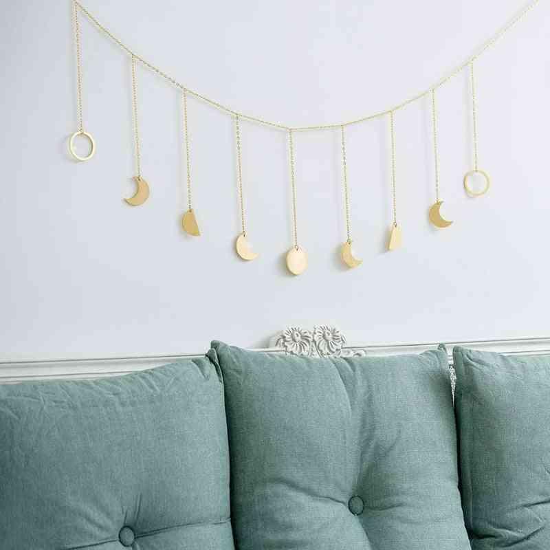 Sun Moon Shape Hanging Decoration