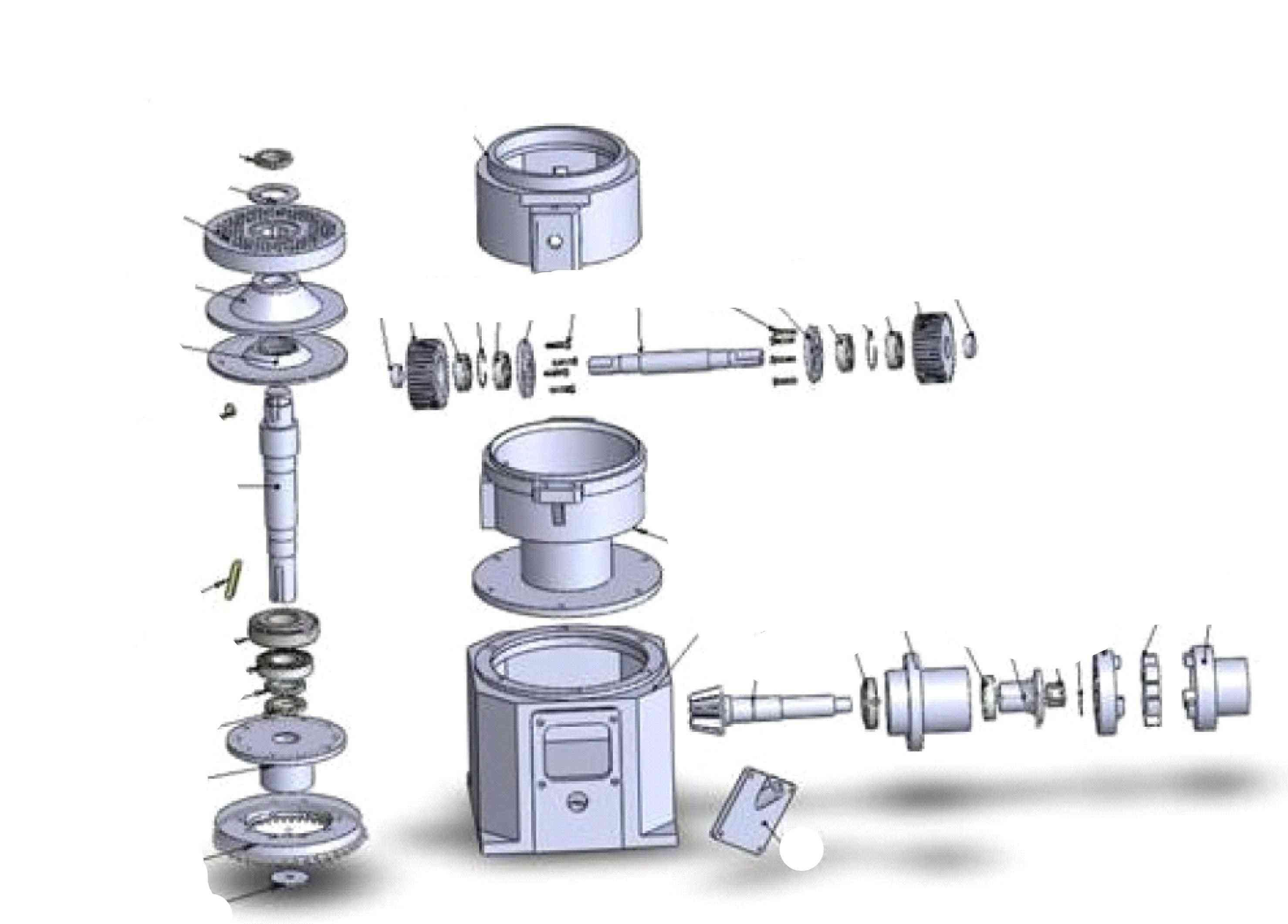 Spare Parts Of Kl230 Pellet Mill Machine  (80-100kg/h)
