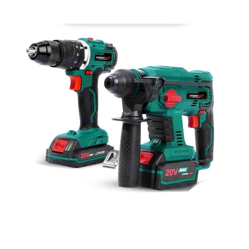 Brushless Rotary Hammer Electric Drill