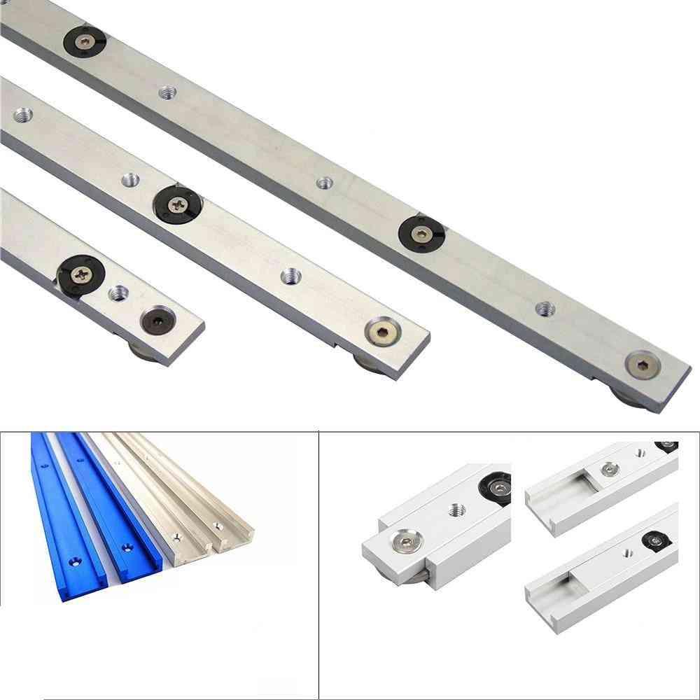 Aluminium Alloy T-tracks Slot Miter Track