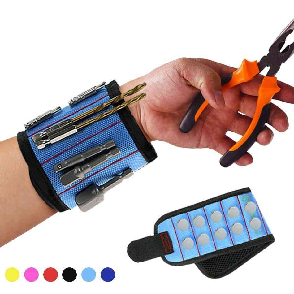 Polyester Super Strong Magnetic Wristband