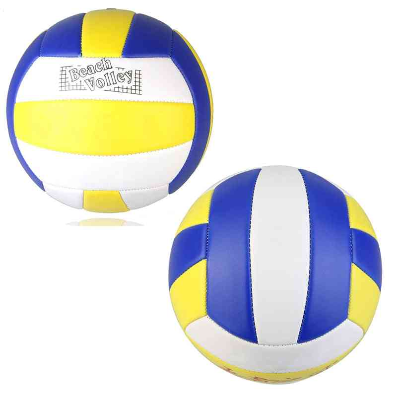 New Competition Beach Pu Leather Volleyball Ball Soft Touch Sports Training Ball