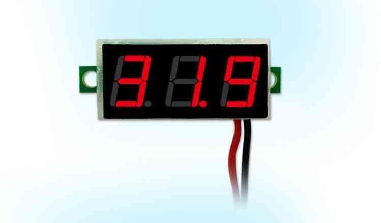 Digital Led Mini Display Module Voltage Tester