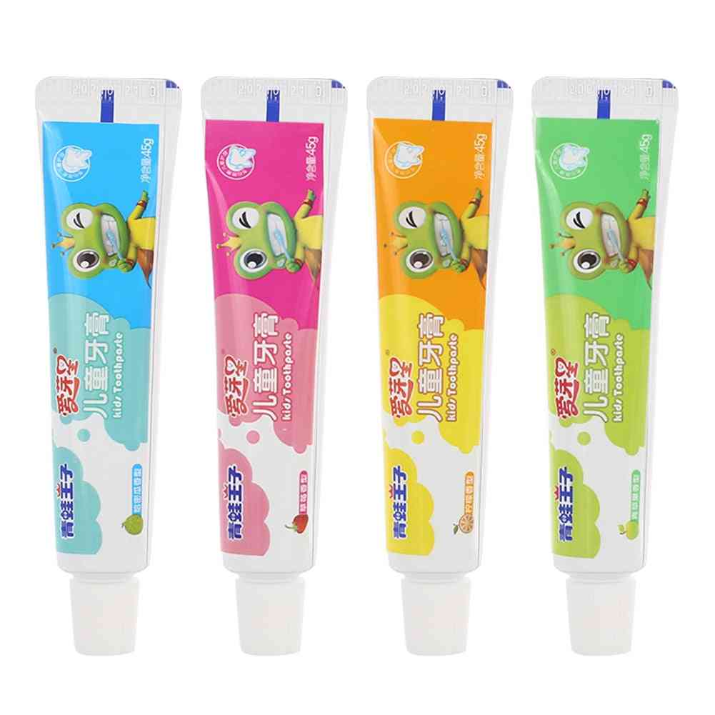 Baby Toothpaste, Toothpaste Care Decay Non-toxic Toothbrushes 3 Flavors