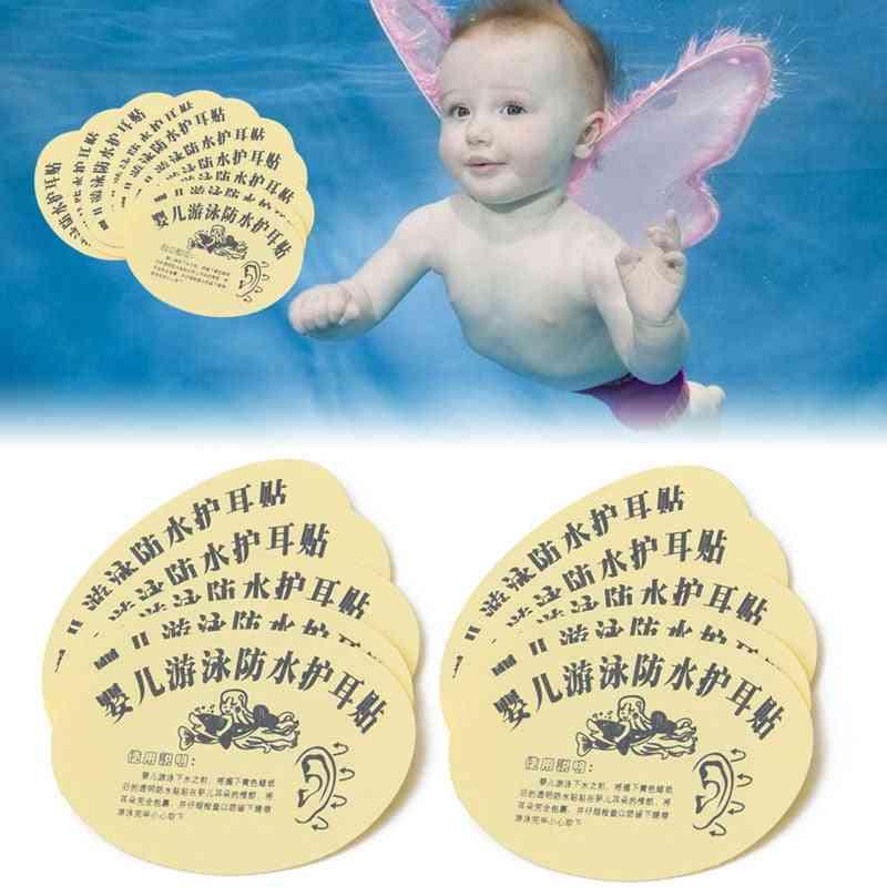 Baby Infant Bath Swimming Waterproof Ear Stickers, Paste Kids Earplug