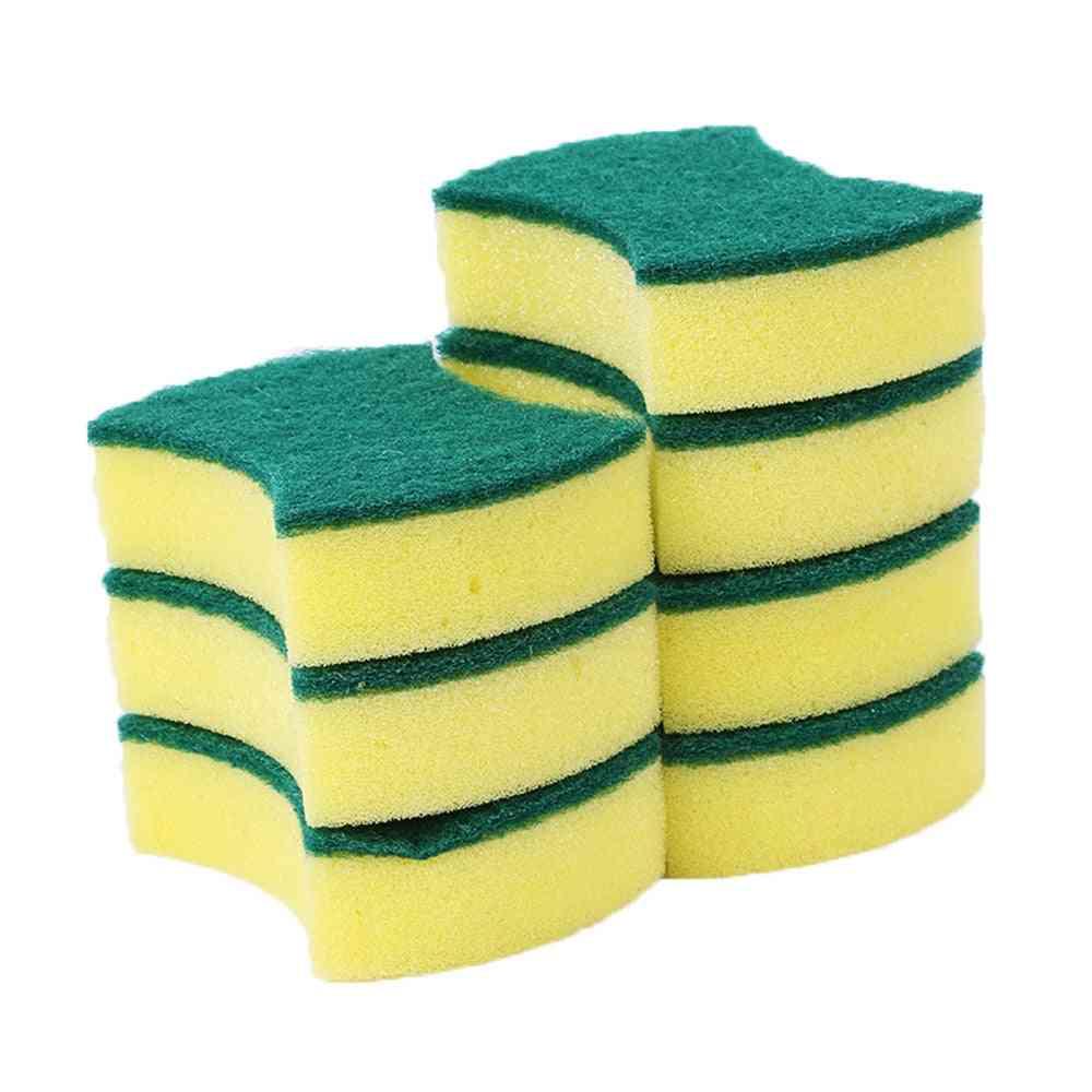 Dishwashing Sponge Kitchen Nano Emery Magic Clean Rub