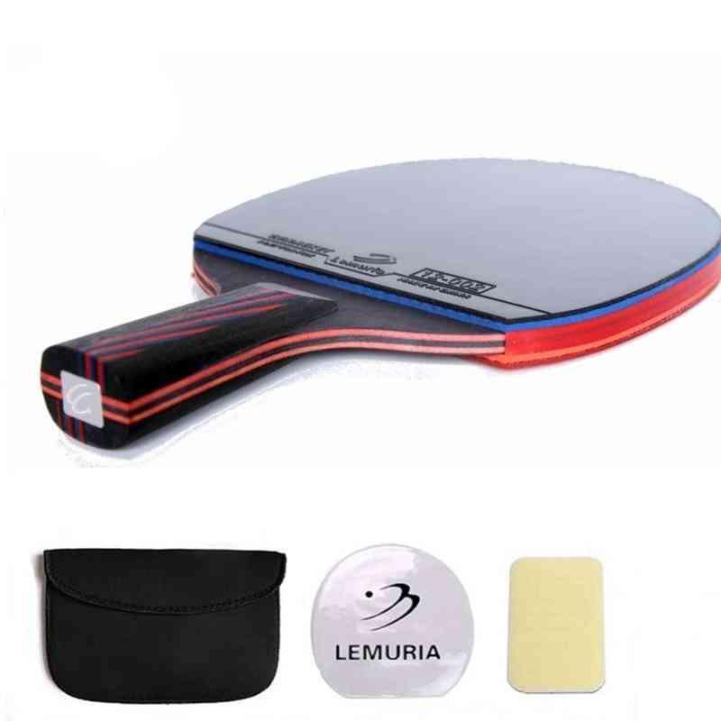 Lemuria Professional Carbon Fiber Table Tennis Racket