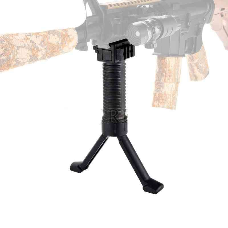 Rifle Airsoft Retractable Bipod Adapter