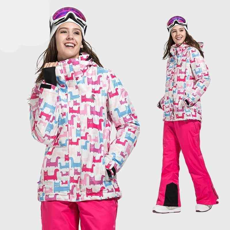 Outdoor Sports Ski Women's Suit Snow Clothing Warm