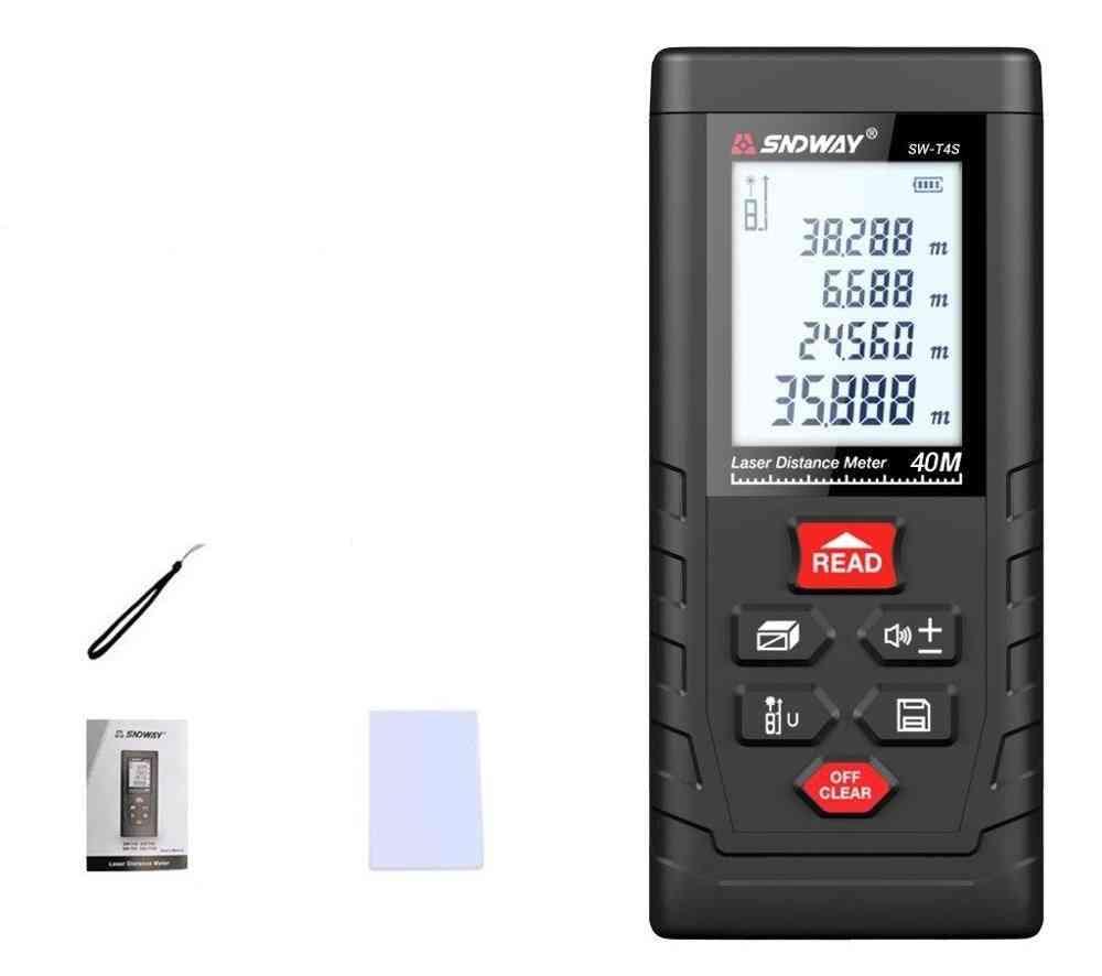 Digital Ruler Trena Laser Tape Measure Range Finder