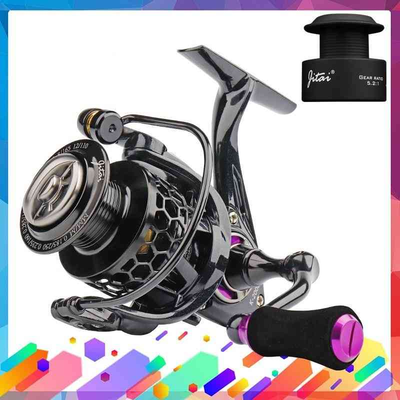 Spinning Reel With Free Spool Lightweight