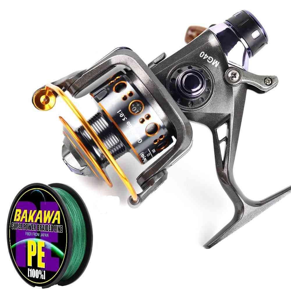 Double Brake Design Fishing Reel Super Strong Carp