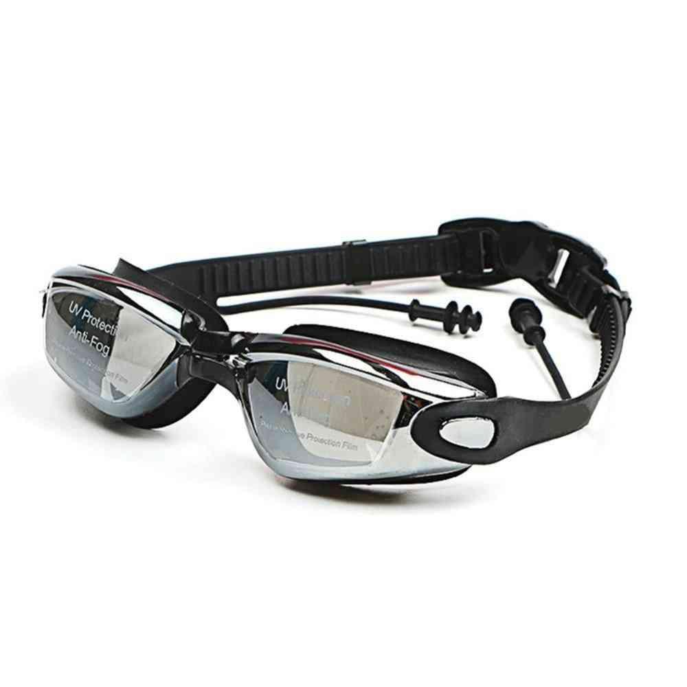 Professional Silicone Myopia Swimming Goggles