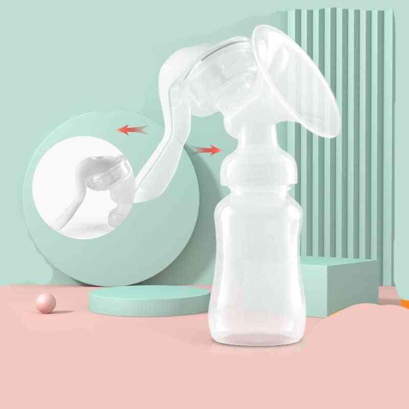 Manual Breast Pump Baby Nipple Manual Suction Feeding Breasts Bottle Sucking Postpartum Accessories