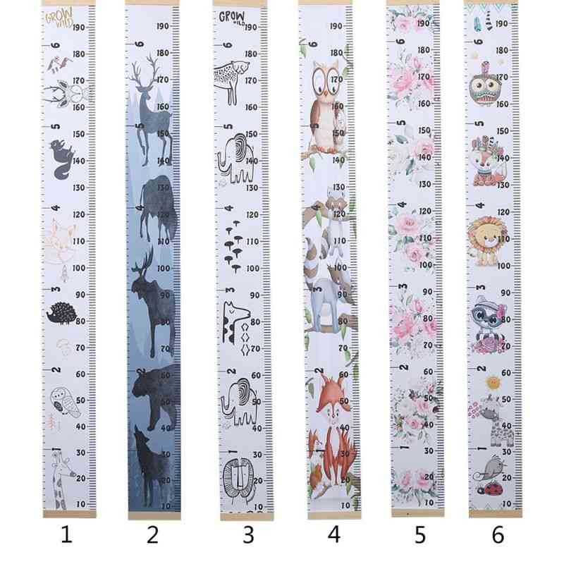Diy Simple Creative Decorative Wall Stickers Kids Height Growth Ruler