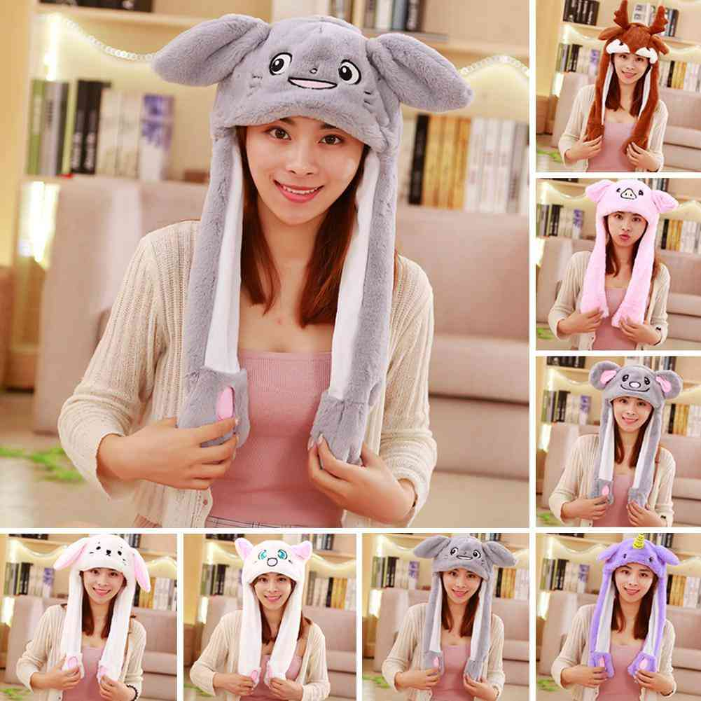 Rabbit Hat With Moving Ears  (19)