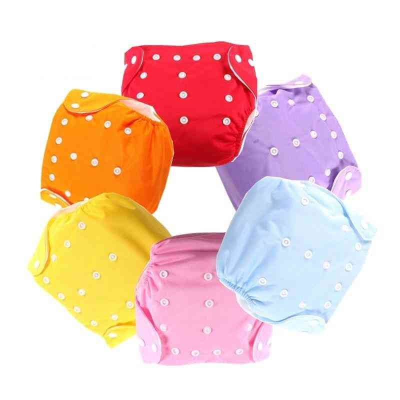 Baby Diaper's Underwear Reusable Nappies Pants